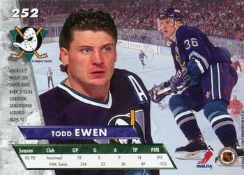 1993-94 Trading Card