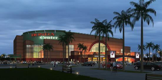 Honda Center, Anaheim, CA