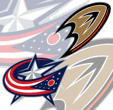 Anaheim Ducks vs Columbus Blue Jackets