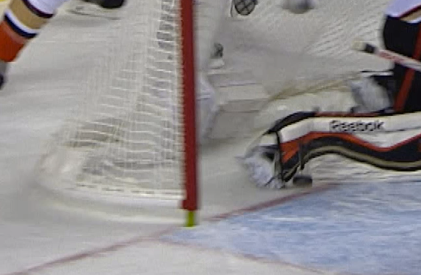 No goal play between Calgary and Anaheim