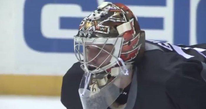 Screen shot of Anaheim Ducks Daily Video